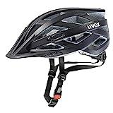 Uvex Erwachsene I-VO CC Fahrradhelm, black mat, 56-60 cm